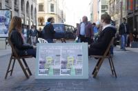 Markt der Demokratie am9. Oktober 2010
