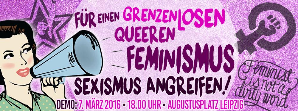 """PM """"Gegen Sexismus – für Gleichberechtigung"""""""