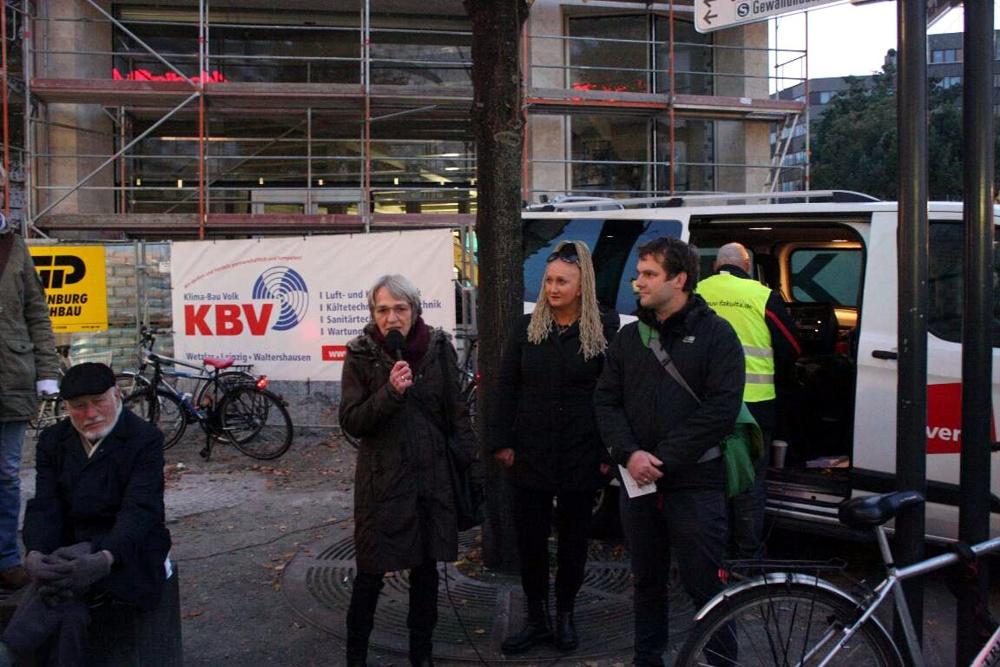"""Dokumentiert: Interview der LIZ mit Irena Rudolph-Kokot vom Aktionsnetzwerk """"Leipzig nimmt Platz"""""""