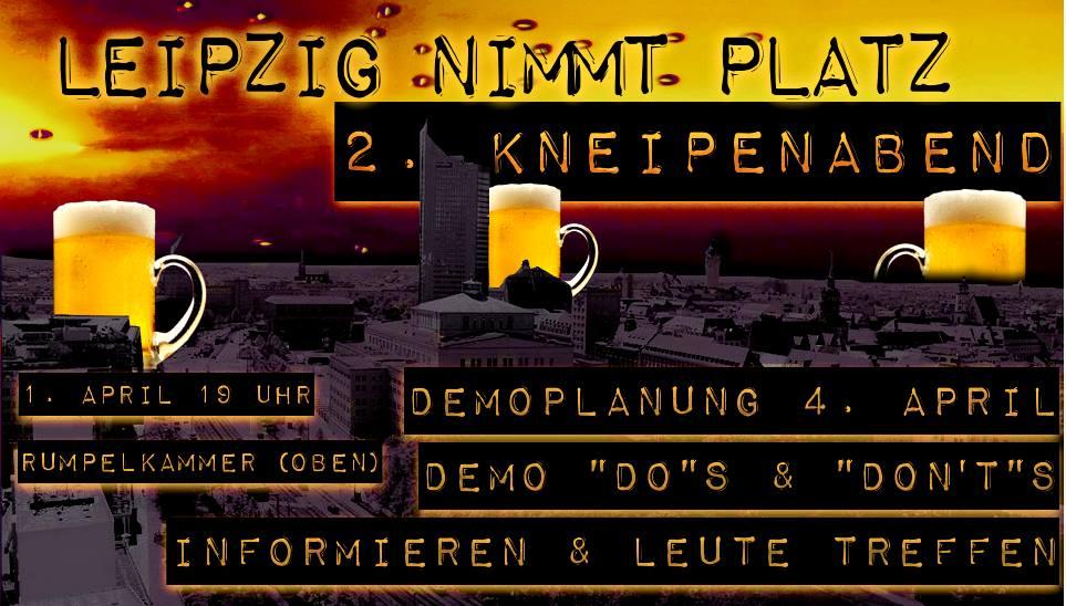 2. Offener Kneipenabend – #schnapsnehmen mit #platznehmen
