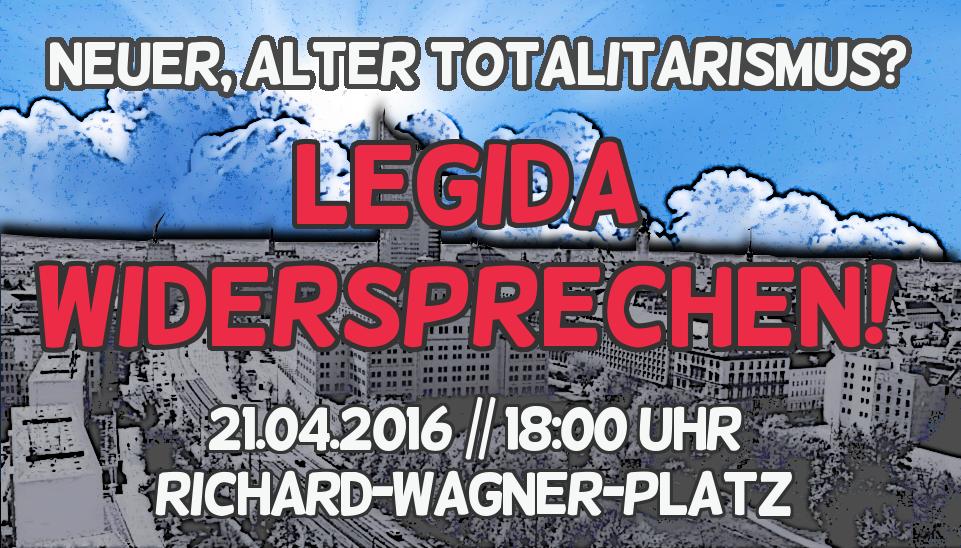"""PM: Aktionsnetzwerk """"Leipzig nimmt Platz"""" ruft zu Protest gegen offen neonazistische LEGIDA-Demonstration auf"""