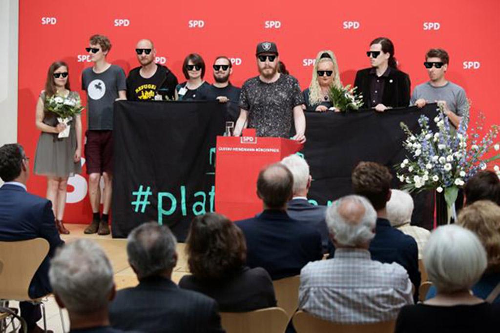 Rede bei der Verleihung des Gustav-Heinemann-Bürgerpreises