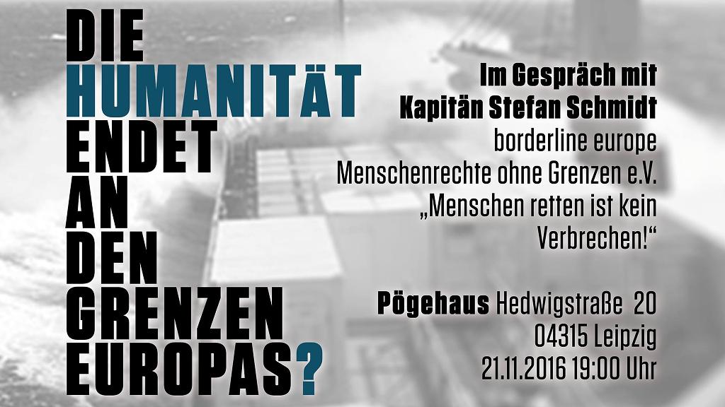 21.11. Pöge-Haus: Im Gespräch mit Kapitän Stefan Schmidt
