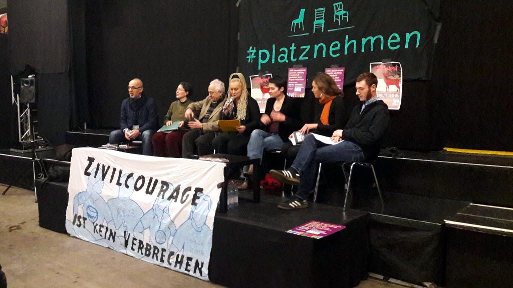 #Blockruf – das Aktionsnetzwerk ruft am Montag zu Protest auf