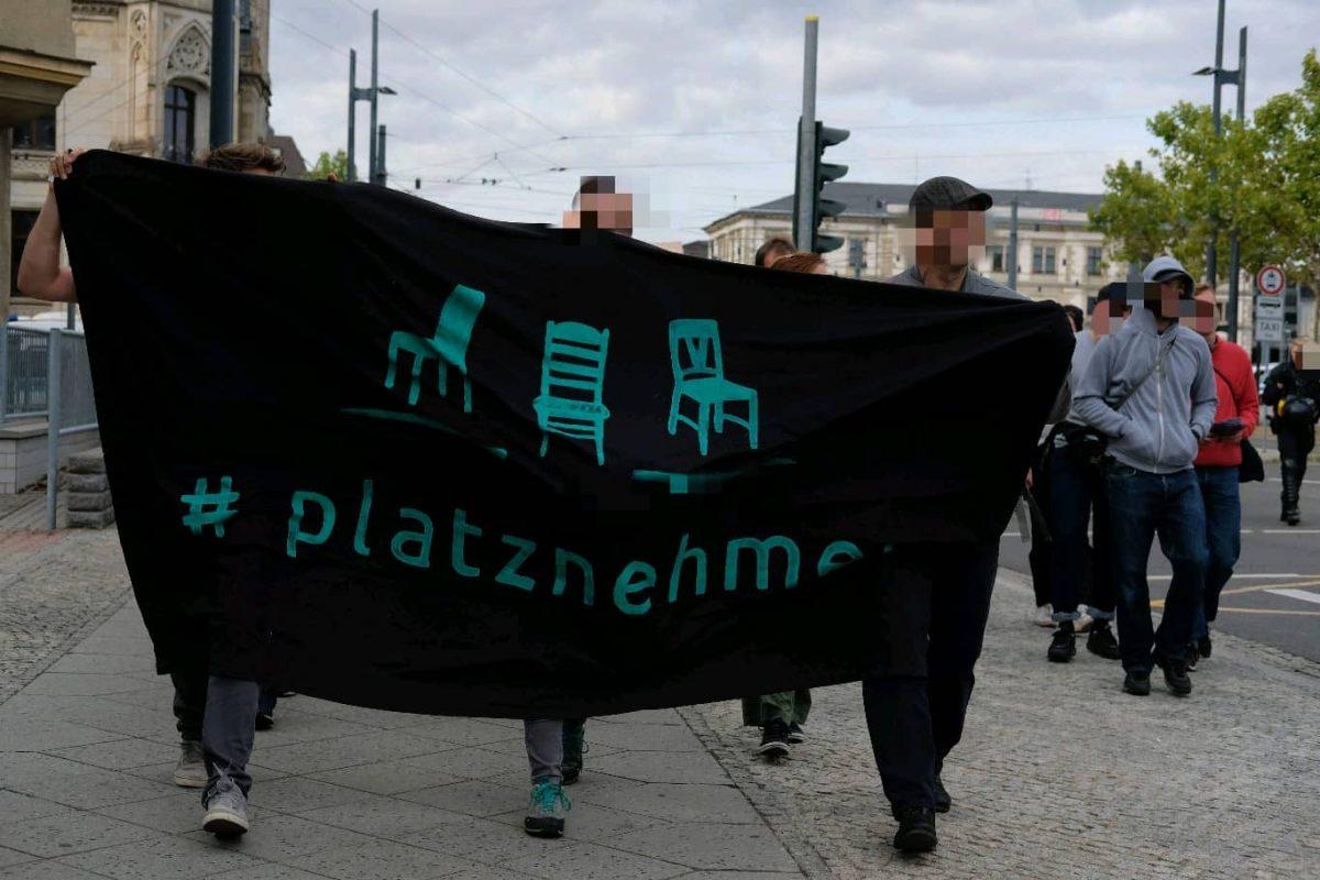 Leipzig nimmt Platz am 27. August 2018 in Chemnitz #c2708