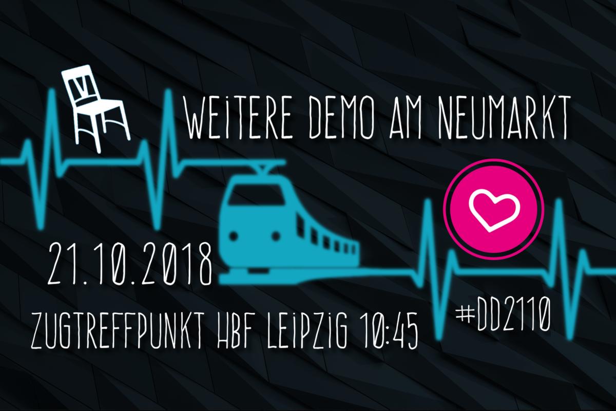 """Für Solidarität und Menschenrechte – Leipzig fährt zu """"Herz statt Hetze"""""""