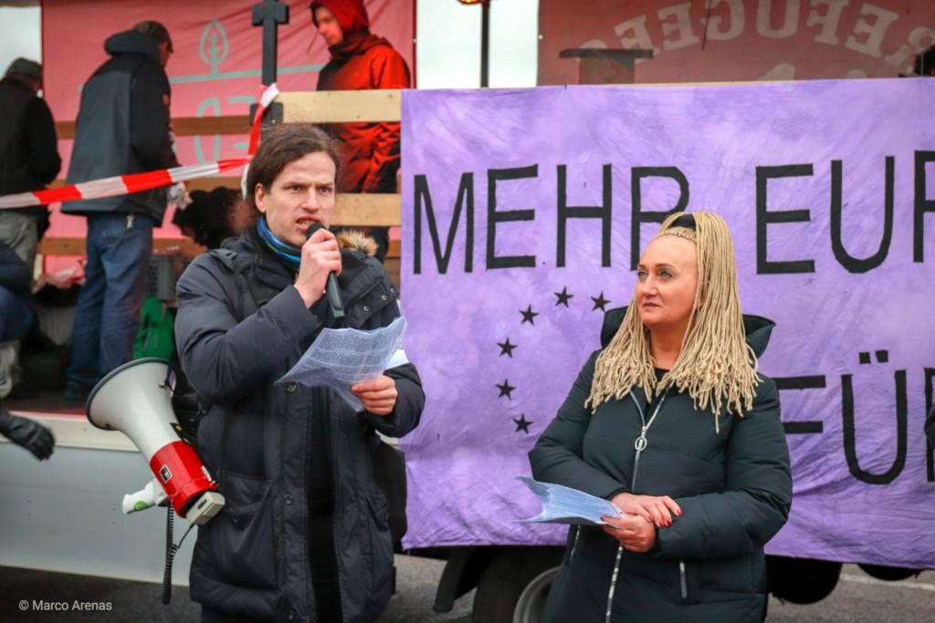 """Redebeitrag am 12. Januar bei der Demo """"AfD? Adé!"""" in Riesa"""