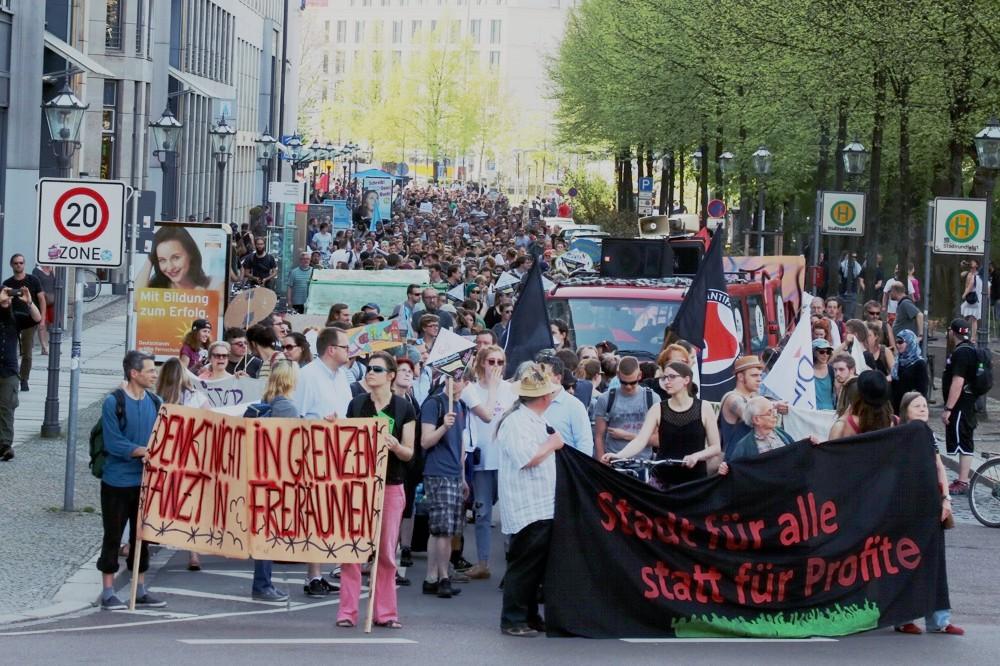 Redebeitrag zur #Mietenwahnsinn-Demo: Kämpfe verbinden