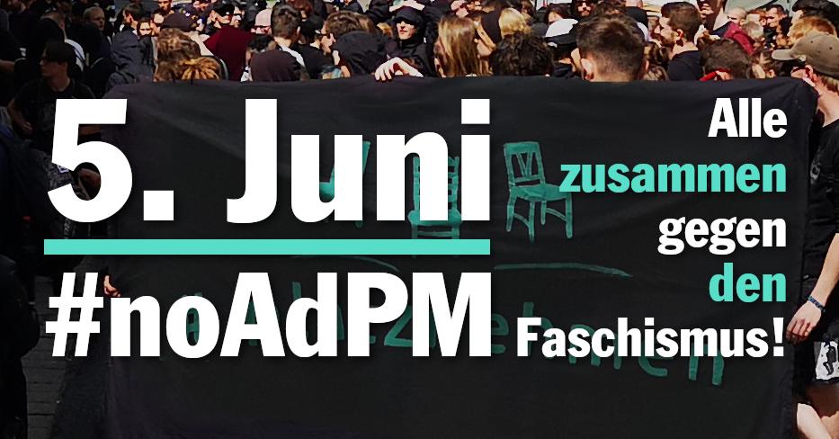 #platznehmen resümiert den Tag der deutschen Zukunft und ruft gegen Poggenburgs AdPM auf
