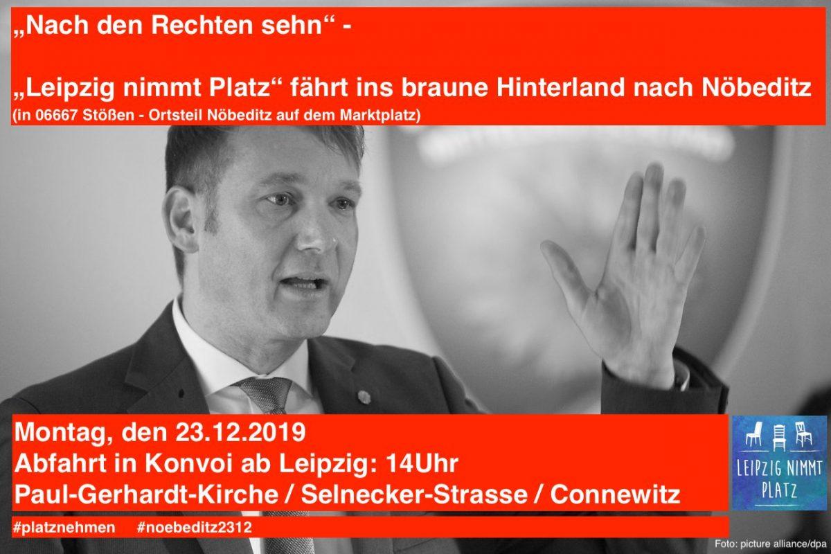 Demo Poggenburg Stößen #noebeditz2312