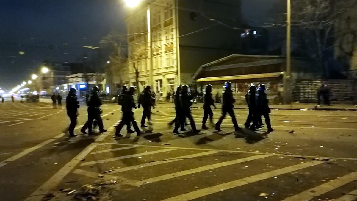 Syvester 2019/2020 Polizei