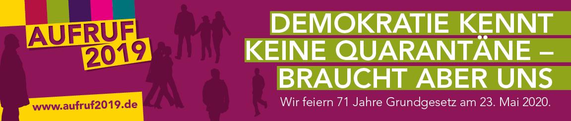 Grundrechte verteidigen. Demokratie leben. – 71 Jahre Grundgesetz