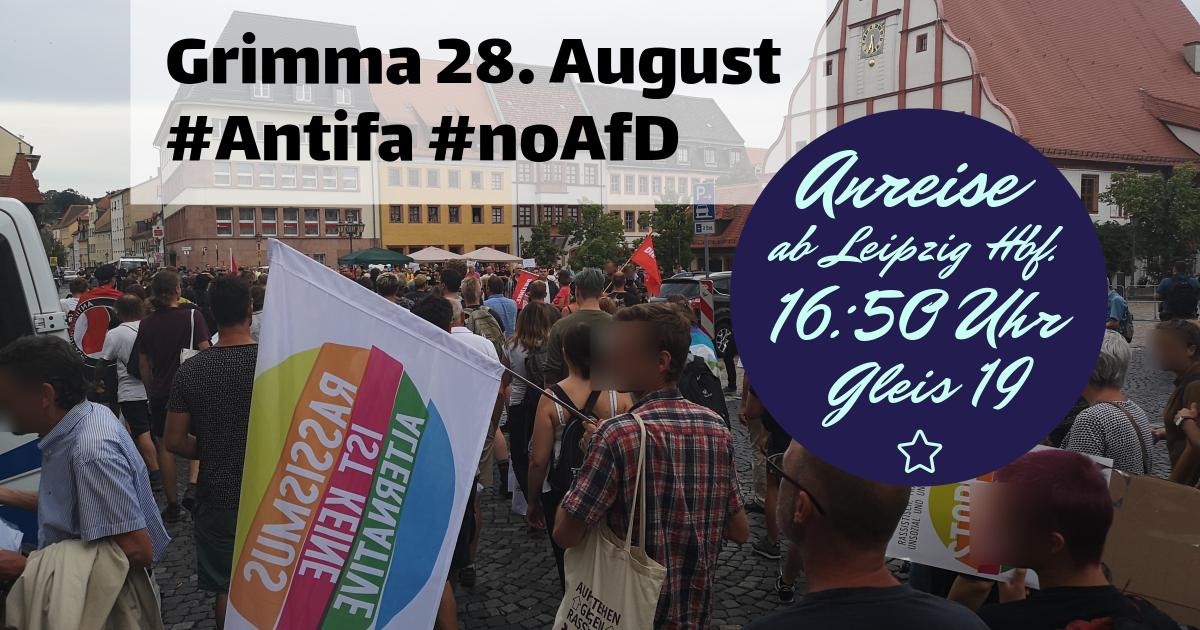 Solidarisch nach Grimma