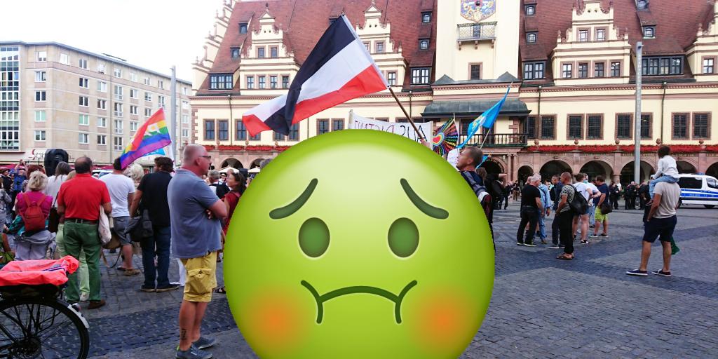 Aufruf gegen die Bewegung Leipzig am 19. September