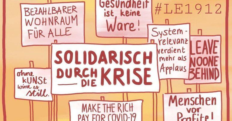 Kundgebungen am 19.12. – Solidarisch durch die Krise